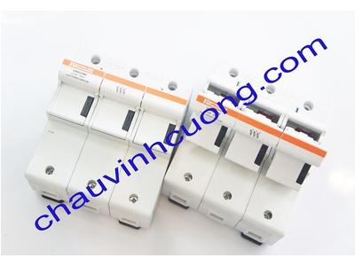 Đế cầu chì 22x58mm Ferraz Shawmut CMS223M2 3 cực có microswitches