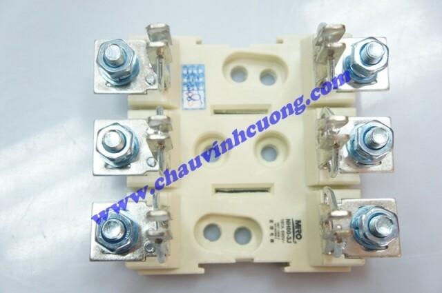 Đế cầu chì 3 cực Miro NH00-3J
