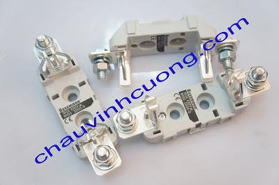 Đế Cầu Chì Bussmann NH00 SD00-D 1 Cực