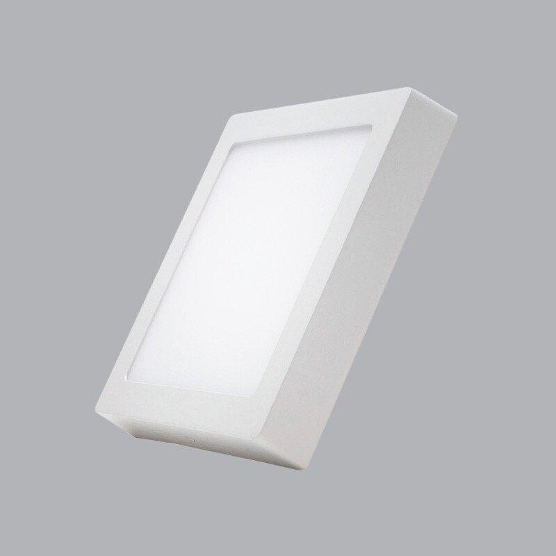 Đèn Led Panel vuông nổi Dimmer 6W trắng, vàng