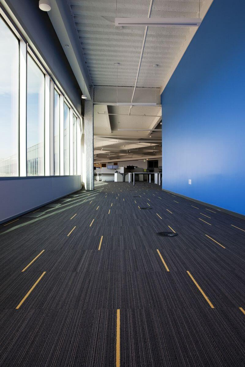 Một khu văn phòng lót thảm trải sàn tại đà nẵng