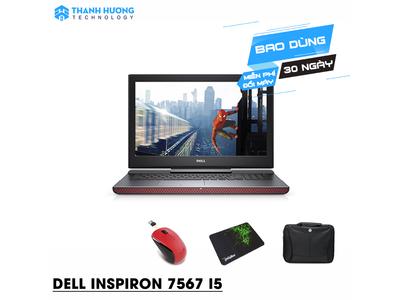 Dell Inspiron N7567A Core i5 7300HQ| Ram 8GB| SSD 128 + 1000GB | VGA rời GTX 1050ti 4GB GD|Full HD