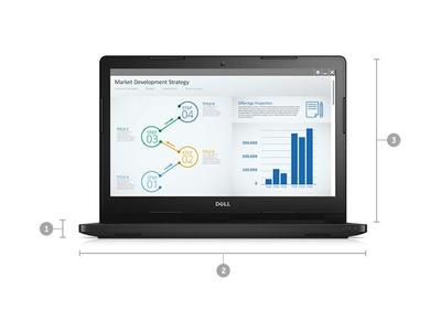 Dell Latitude 3460 (Core i5-3210M | Ram 4GB | HDD 500GB | 14 inch HD)