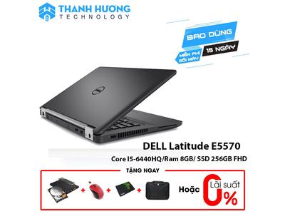 Dell Latitude E5570 Core i5 - 6440HQ | Ram 8GB | SSD 256GB | 15.6 inch FHD