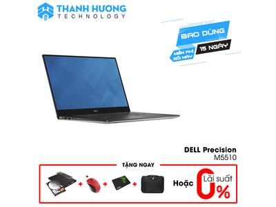 Dell Precision 5510 (Core i7-6820HQ | Ram 16GB | SSD 256 GB | 15,6 inch 4K | Nvidia Quadro M1000M)