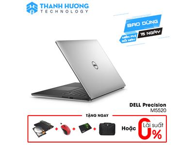 Dell Precision 5520 (Core i7-7820HQ   Ram 16GB   15.6 inch 4K Touch   Nvidia Quadro M1200)