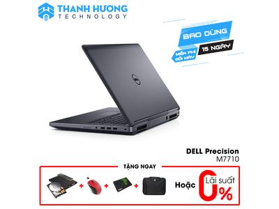 Dell Precision 7710 (Xeon E3-1575M   Ram 32GB   SSD 512GB   17.3 inch Full   Nvidia Quadro M5000M)