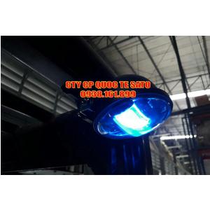 Đèn ánh sáng xanh, đèn ánh sáng đỏ, giải pháp an toàn xe nâng - Blue /Red safety spot warning light