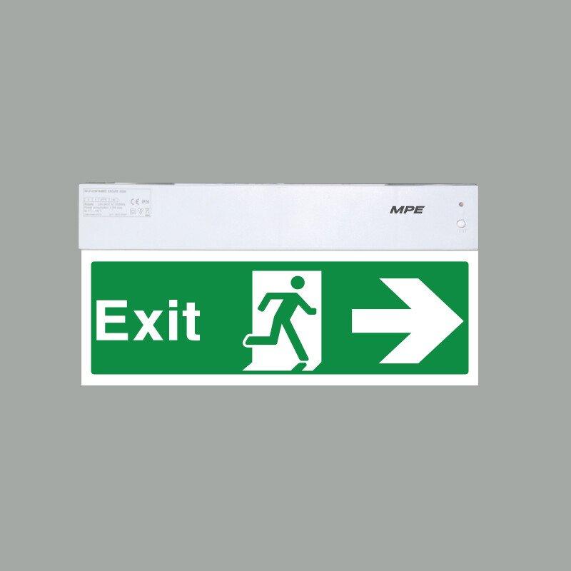 Đèn Báo Exit Đa Năng 1 Mặt Phải EXR/M