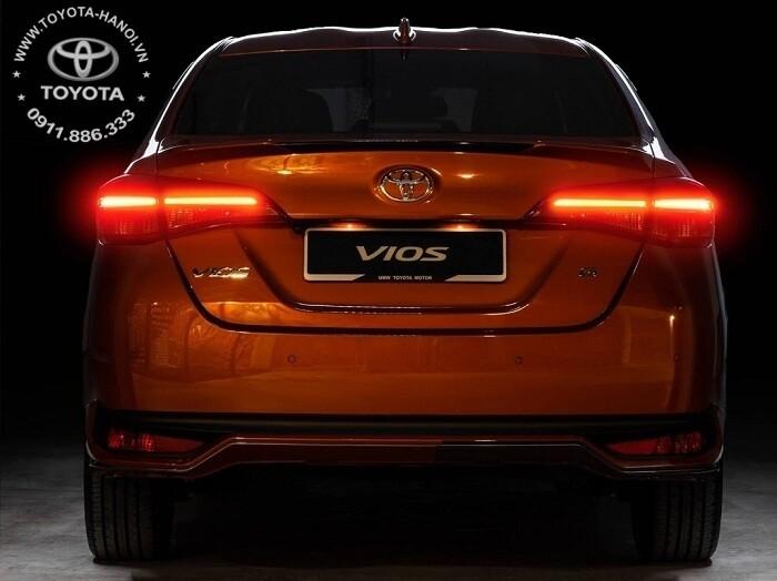 Đuôi xe Toyota Vios G 2021