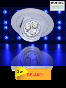 Đèn Led Âm Trần Mẫu 03 - Công suât 3w