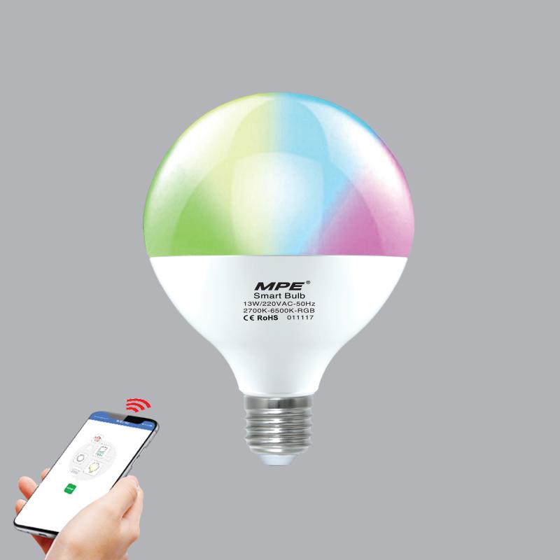 Đèn Led Bulb Smart MPE 13W Wifi