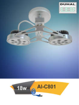 Đèn Led Chiếu điểm Mẫu 06 - Công suất 18w