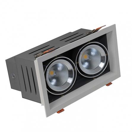 Đèn LED Downlight AT12 240x125/9Wx2.DA 4000K