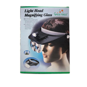 Đèn lúp đội đầu Light Head Magnifying Glass Greetmed
