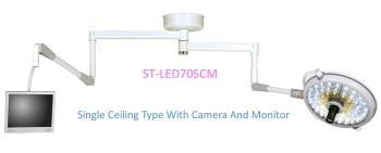 Đèn mổ treo trần 1 nhánh có camera và monitor
