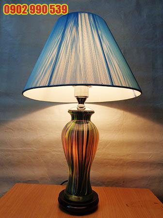 Đèn ngủ để bàn gốm - ĐBG3