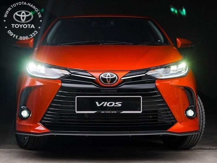 Đèn pha Led xe Toyota Vios 2021