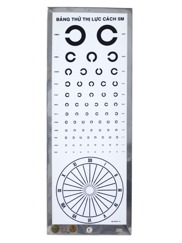 Đèn thử thị lực chữ C