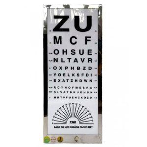 Đèn thử thị lực chữ ZU TNE