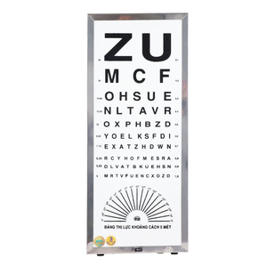 Đèn thử thị lực chữ ZU