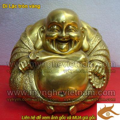 Tượng Phật Di Lạc tròn đk 20cm