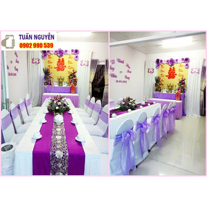 Địa chỉ cho thuê bàn ghế đám cưới giá rẻ