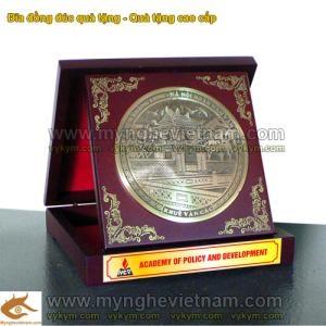 Đĩa đồng đúc,đĩa đồng quà tặng Khuê Văn Các Văn Miếu Hà Nội