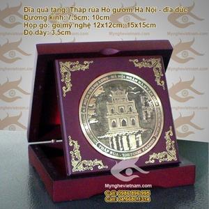 Biểu trưng hộp gập Khuê văn các Tháp rùa Cột cờ Hà nội