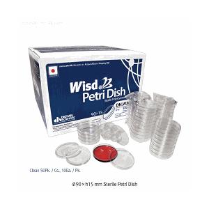 Đĩa petri nhựa đã tiệt trùng Wisd