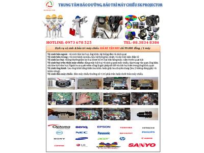 dịch vụ bảo trì, vệ sinh máy chiếu chuyên nghiệp