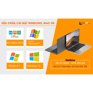 Dịch vụ cài đặt windows, macOS và phần mềm máy tính tại Đà Nẵng