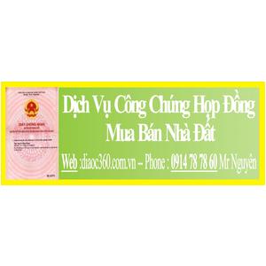 Dịch Vụ Công Chứng Hợp Đồng Mua Bán Nhà Đất Quận Phú Nhuận