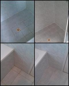 Dịch vụ đánh bóng kính phòng tắm