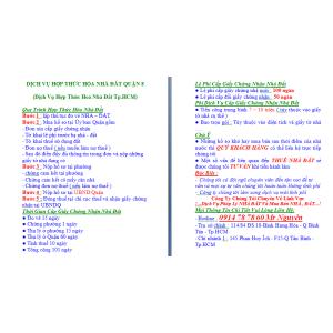Dịch Vụ Hợp Thức Hoá Nhà Đất Quận 8
