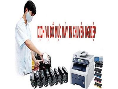 Dịch vụ nạp mực, bơm mực máy in chuyên nghiệp