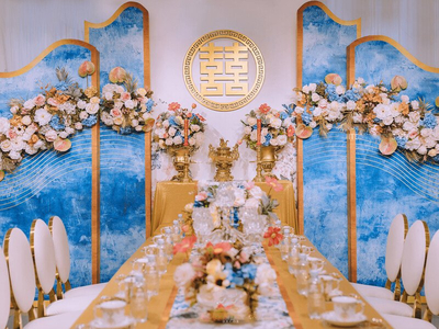 Dịch vụ trang trí tiệc cưới – trang trí bàn thờ gia tiên giá rẻ tại Quận 5, TP.HCM