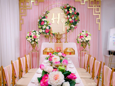Dịch vụ trang trí tiệc cưới – trang trí bàn thờ gia tiên giá rẻ tại Quận Tân Phú, TP.HCM