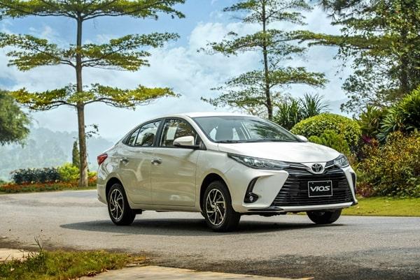Toyota Vios xếp vị trí thứ 2 trong top 10 xe bán chạy tháng 6-2021