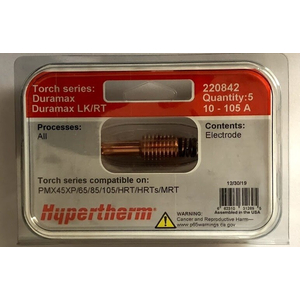 Điện cực 220842 Hypertherm electrode