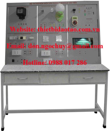 Bộ thực hành mạch điện dân dụng