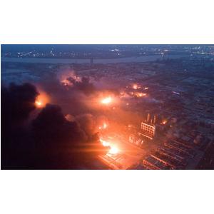 Diên Thành (TQ): 700 người thương vong do cháy nổ nhà máy thuốc trừ sâu