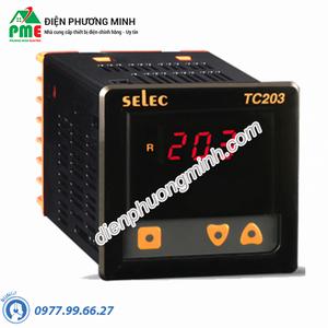 Điều khiển nhiệt độ Selec TC203AX (72x72)