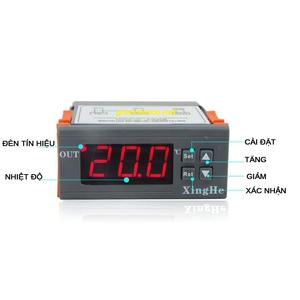 Điều khiển nhiệt độ W2028 220V