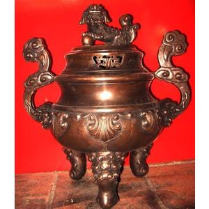 đỉnh thờ cúng bằng đồng cao 50cm giả cổ