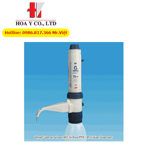 Dispenser hút mẫu Labmax-AirLess UN 5~50/1㎖