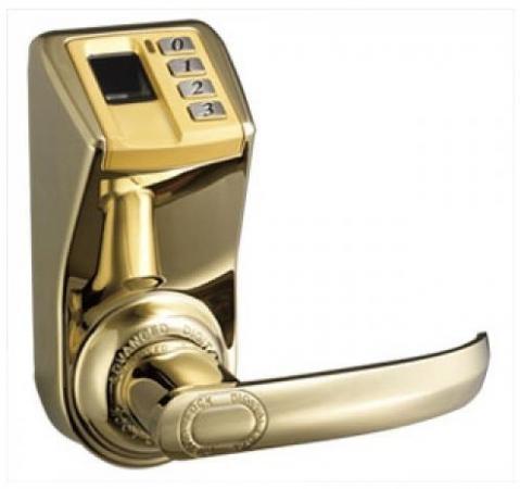 Khóa kỹ thuật số Adel DIY 3998, khóa số, vân tay