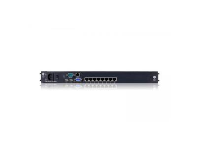 """Dual Rail LCD-8 Port CAT5 KVM-19"""" with IP - DL2908i"""