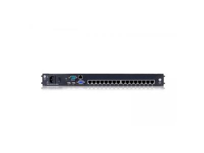 """Dual Rail LCD-16 Port CAT5 KVM-19"""" with IP - DL2916i"""