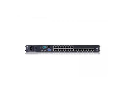 """Dual Rail LCD-24 Port CAT5 KVM-19"""" with IP - DL2924i"""